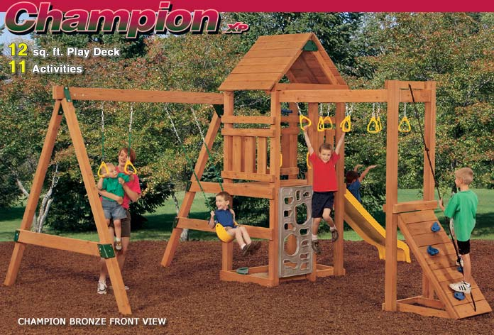 Playstar ps7719 kit champion xp bronze treated lumber at for Sutherlands home kits