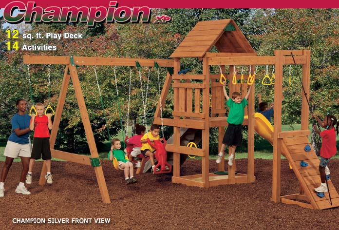 Playstar ps7719 kit champion xp silver treated lumber at for Sutherlands home kits