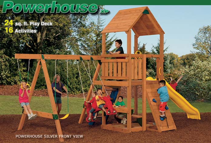 Playstar ps7715 kit powerhouse xp silver treated lumber at for Sutherlands home kits