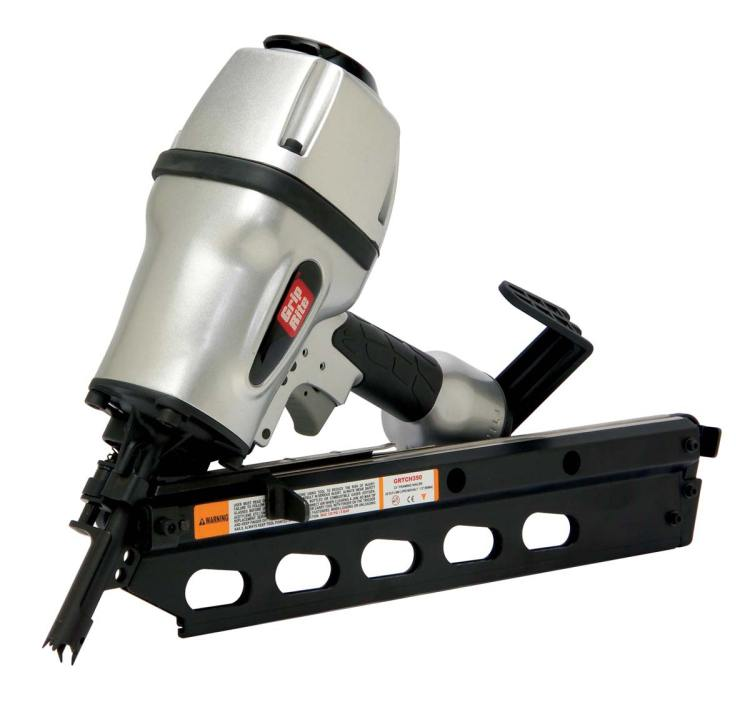 Grip Rite Grtch350 Pneumatic 30 Degree Framing Nailer For
