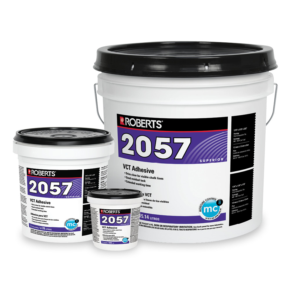 Roberts 2057 1 1 Gallon Vinyl Composition Tile Adhesive At