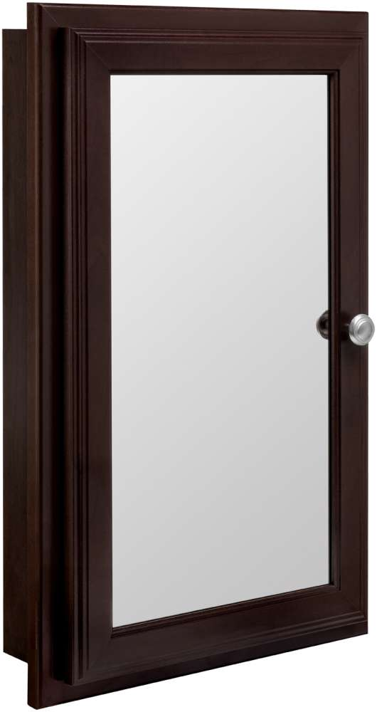 Java 16 Inch Swing Door Mirrored