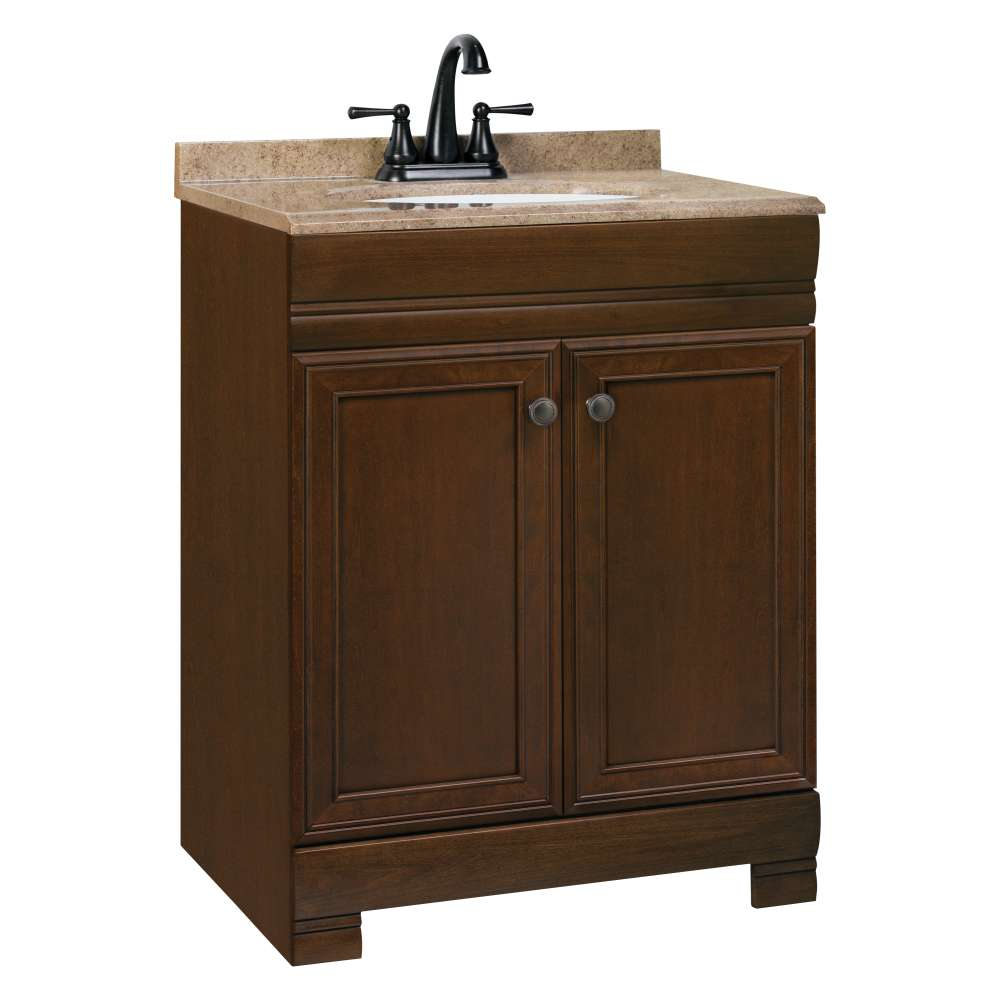 Vanity Nightclub Bathroom continental cabinets cbc20b24 westbrook 24 in combo vanity with