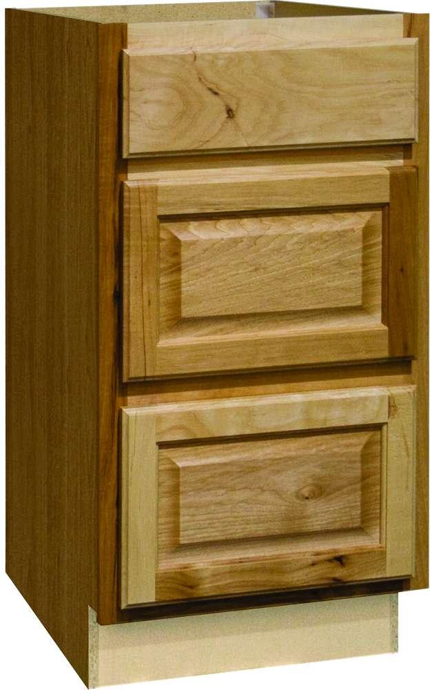 Continental Cabinets CBKDB18-NHK Hickory 18-Inch Drawer ...