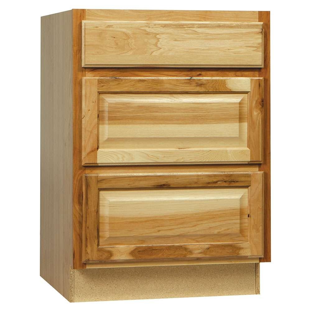 Continental Cabinets CBKDB24-NHK 24 in Drawer Base Cabinet ...