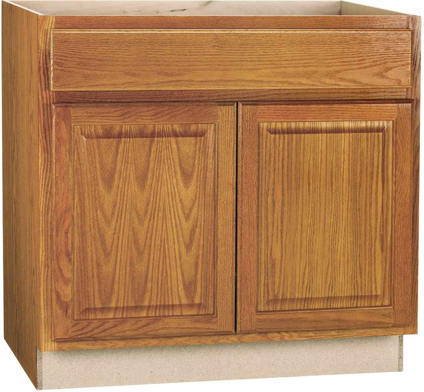 Continental Cabinets CBKSB36-MO 36 in Sink Base Cabinet at ...