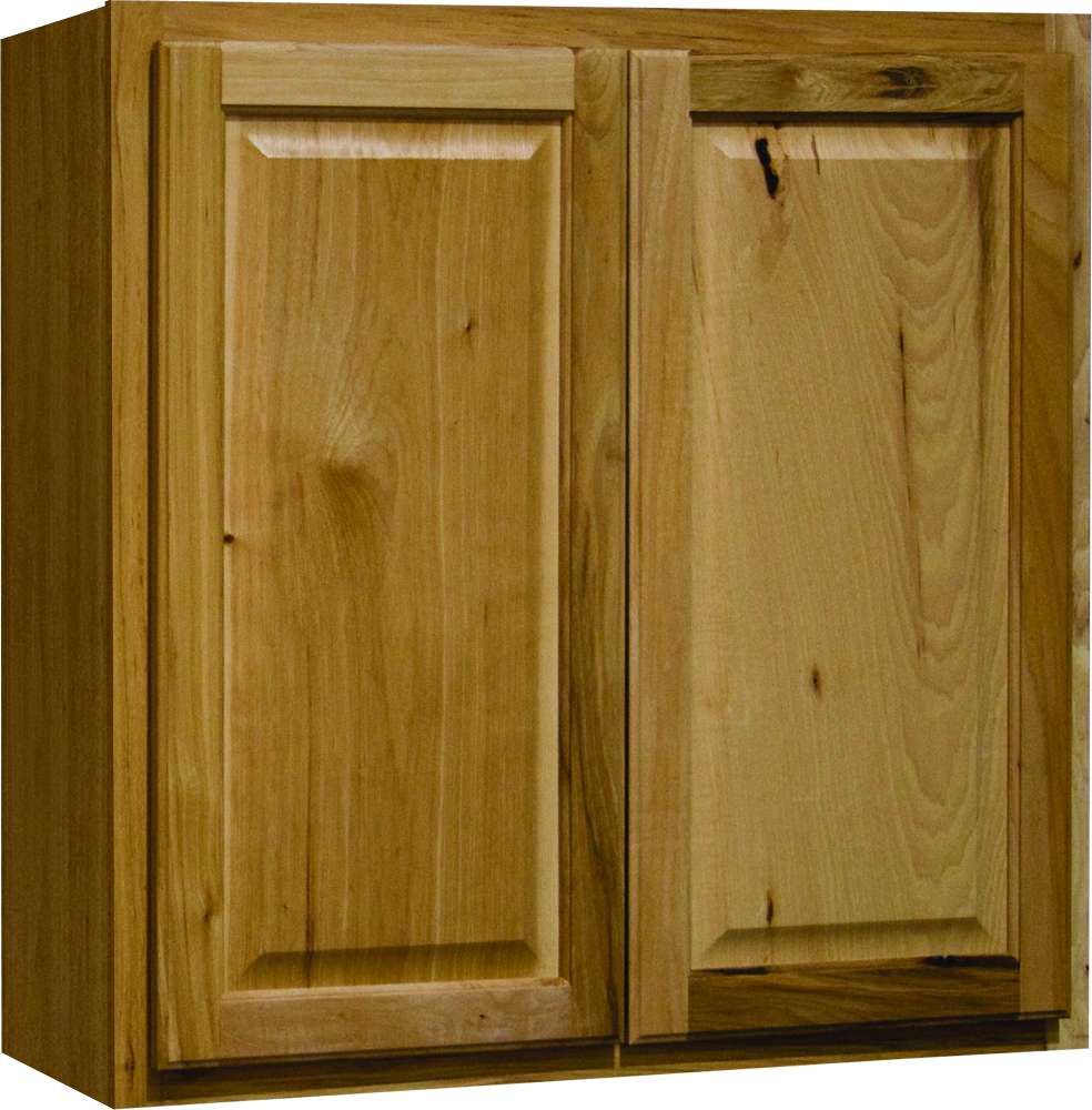 Continental Cabinets CBKW3030-NHK Hickory 30-Inch X 30 ...