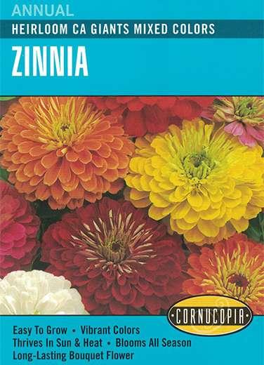 Cornucopia Garden Seeds 138