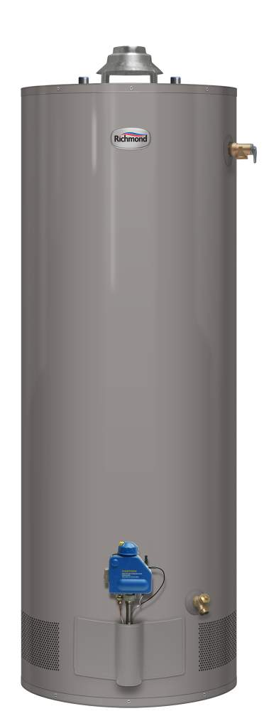 richmond 12gr40 40f3 40 gal tall natural gas water heater 12 year at sutherlands. Black Bedroom Furniture Sets. Home Design Ideas