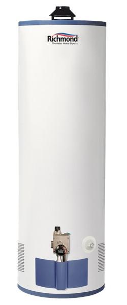 Richmond 9g40s 40f1 40 Gal Natural Gas Water Heater 9 Year