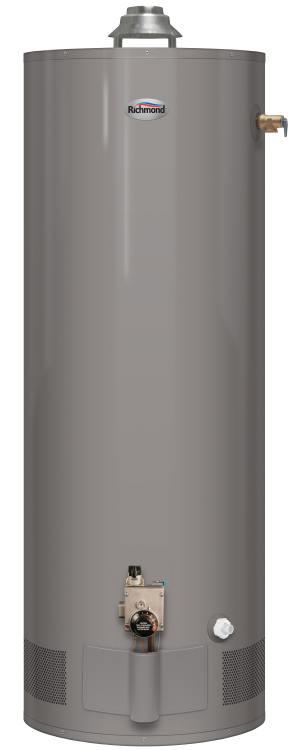 Richmond 6g40 32pf1 40 Gal Propane Lp Water Heater 6 Year