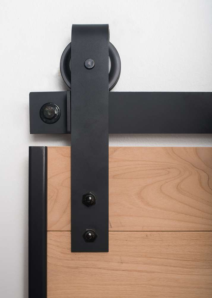 Rustica Hardware Australia: RUSTICA HARDWARE K4R574L7B000 Flat Black Barn Door Loft