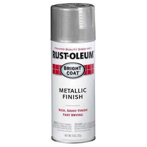 rust oleum 7715830 stops rust interior metallic spray paint aluminum. Black Bedroom Furniture Sets. Home Design Ideas