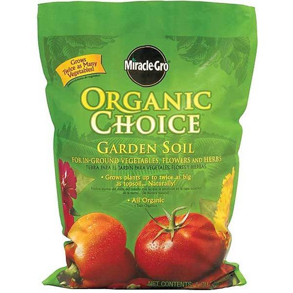 Organic Choice Garden Soil 1cf Miracle Gro 72851510
