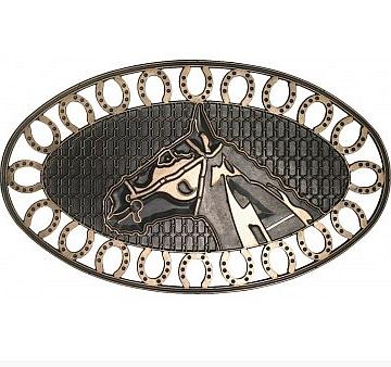 Robert Allen Home And Garden Mat01571 Horse Shoe Door Mat At Sutherlands