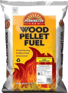 Pennington Seed 40LB Wood Fuel Pellets, 40-Lb Bag at ...