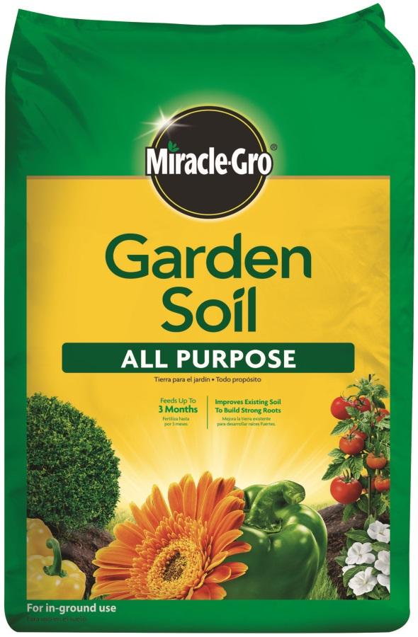 Generic chemical mr75052430 miracle gro garden soil all for Potting soil vs garden soil