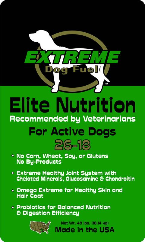 Extreme Dog Fuel Edfen261840 40 Pound Elite Nutrition 26