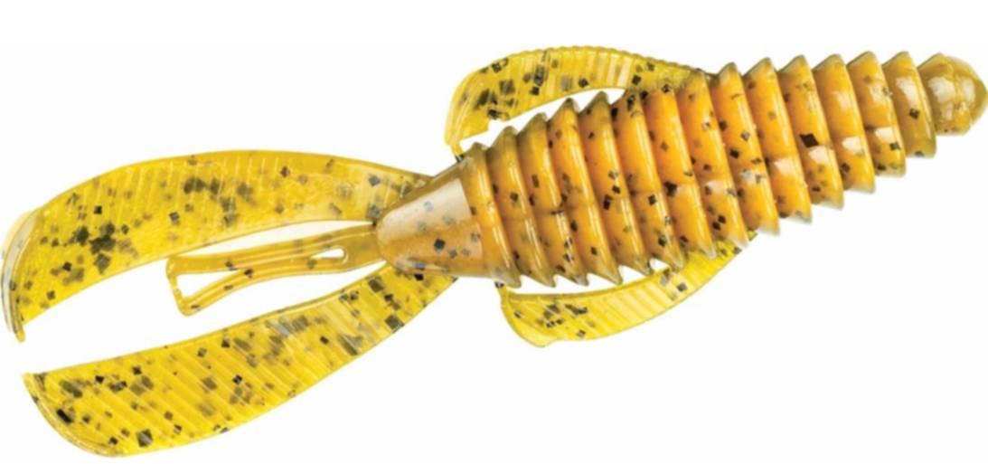 Strike King Rage Tail RGBUG-101 Bama Craw 4 Inch Soft Plastic Fishing  Lures