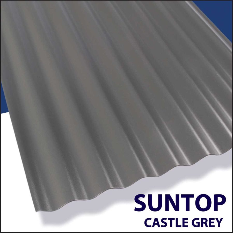 Suntop Panel 12 ft x26 Castle Grey