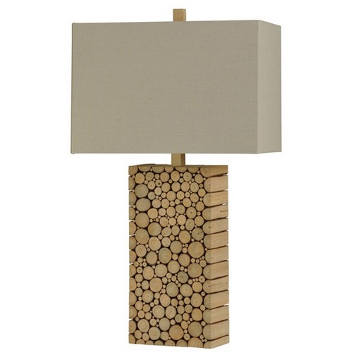 Style Craft Home Collection L310487 Wood Block Table Lamp At Sutherlands