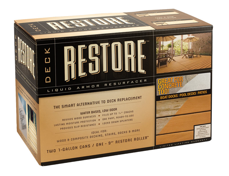 rust oleum 49010 deck restore 2 gal kit at sutherlands
