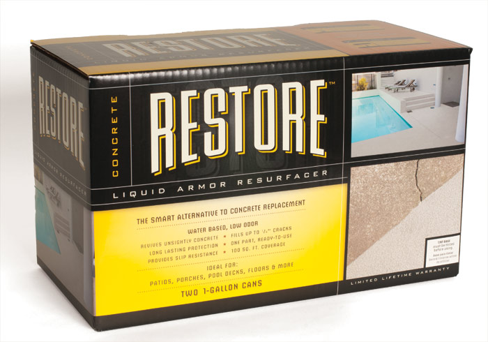 Rust oleum 49011 concrete restore 2 gal kit at sutherlands for Sutherlands deck kits