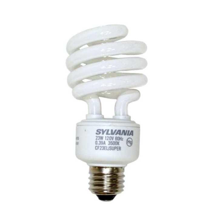 osram sylvania 29784 23w compact fluorescent bulb mini twist at sutherlands. Black Bedroom Furniture Sets. Home Design Ideas