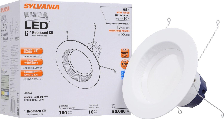 check out 789da 7809a 10-Watt LED Recessed Downlight Kit