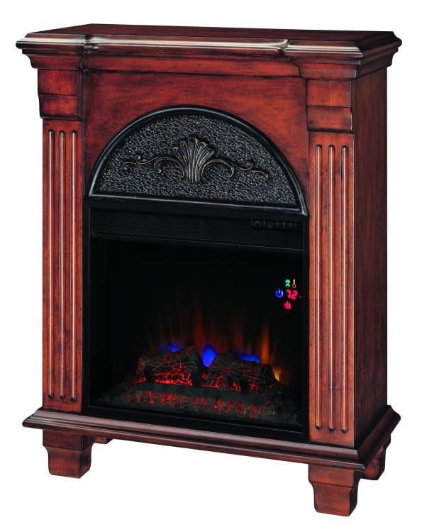 Twin Star International 18pf338 M215 Classic Flame Regent Petite Foyer Fireplace Mantel At