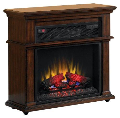 Twin Star International 23if1714 C247 Duraflame Bennington Infrared Rolling Electric Fireplace