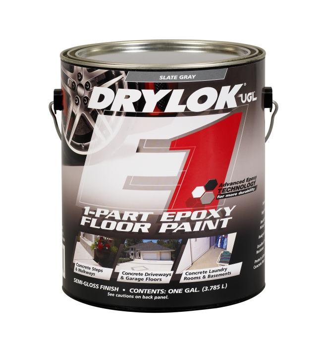 United gilsonite laboratories 28213 1 part epoxy floor for Drylok e1 1 part epoxy floor paint