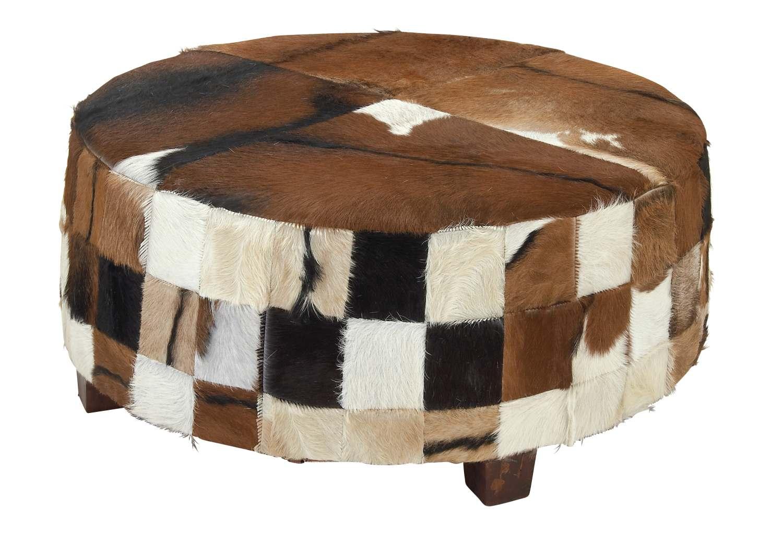Terrific 39 X 18 Inch Wood Hide Large Ottoman Spiritservingveterans Wood Chair Design Ideas Spiritservingveteransorg