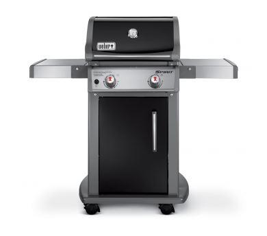 weber grill 46110001 spirit e 210 black lp gas grill at sutherlands. Black Bedroom Furniture Sets. Home Design Ideas