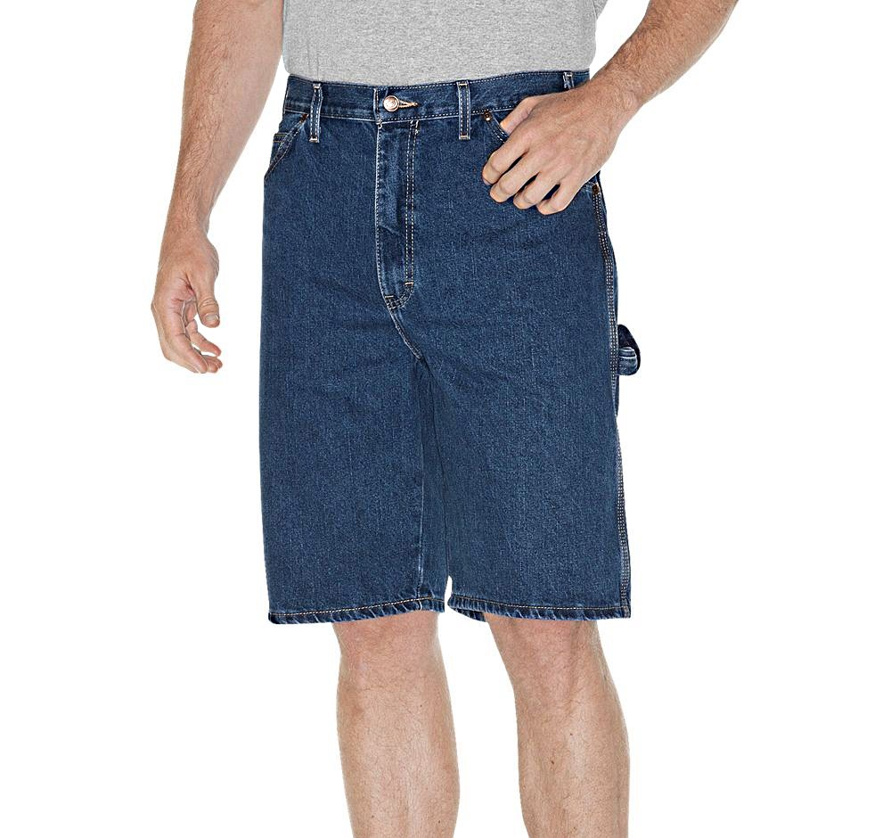 935aa8dcd ... Stonewashed Indigo Blue Relaxed Fit Carpenter Short. Dickies DX200SNB