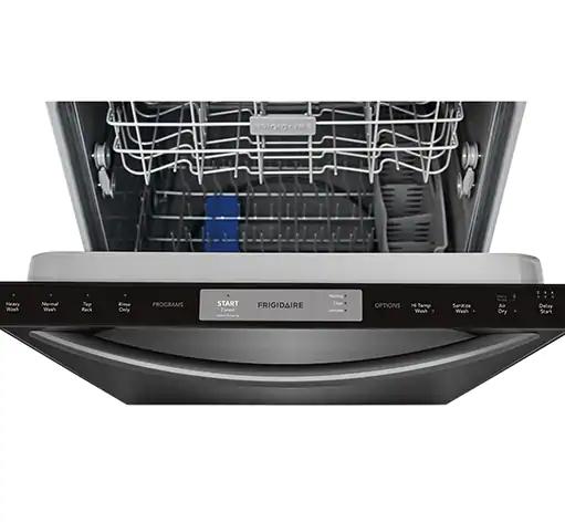 Frigidaire 24 In Black Built In Dishwasher: Frigidaire FFID2426TD 24-Inch Black Stainless SteelBuilt