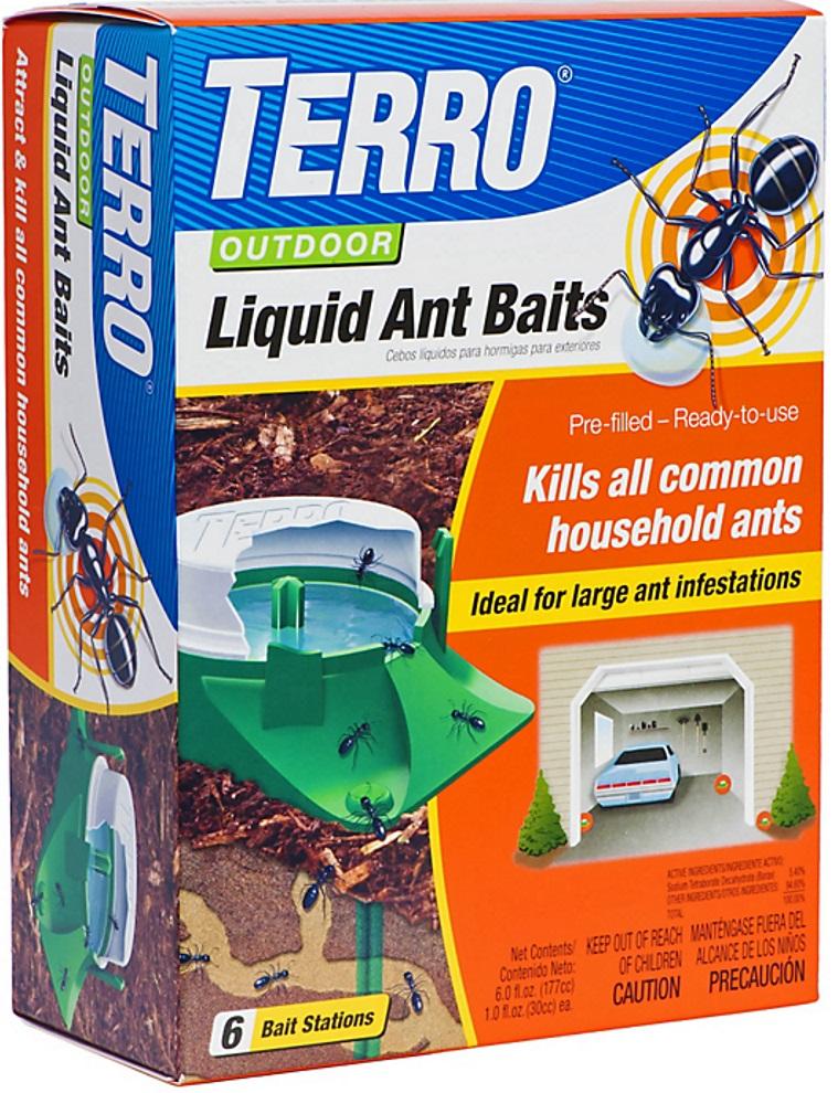 Terro T1806-6 Outdoor Liquid Ant Baits At Sutherlands