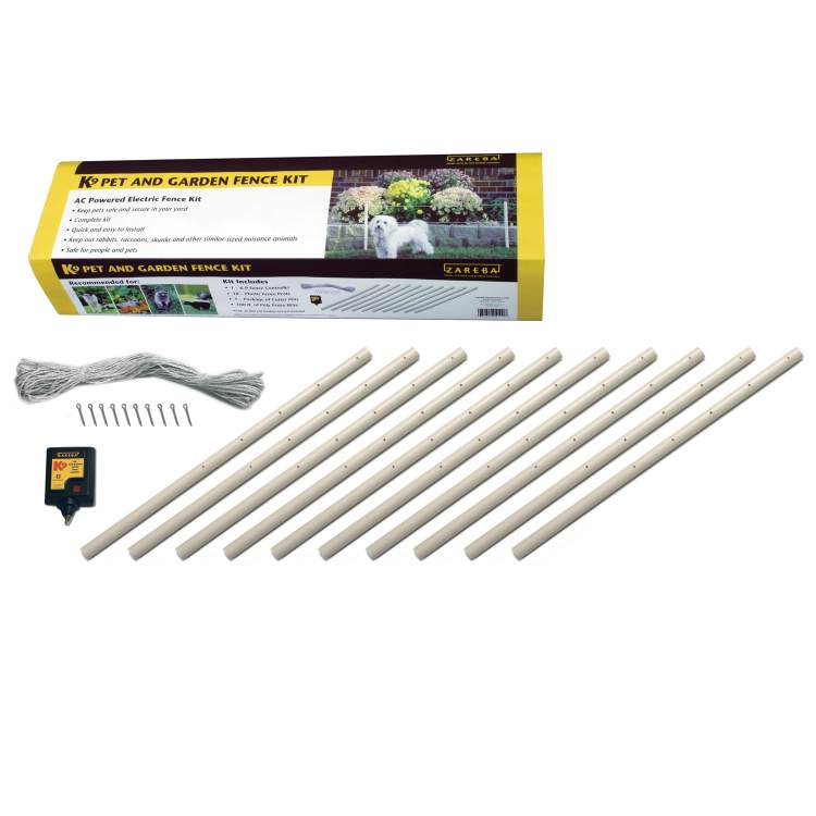 Fencing to keep unwanted animals out of your garden garden for Sutherlands deck kits