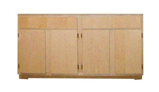 Zee Manufacturing Birch Cabinets Bar Cabinet