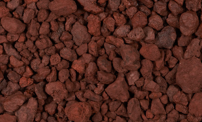 Red Landscaping Stone : Sutherlands rock red lava cu ft at