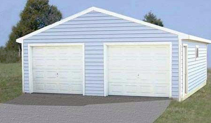 Garage Kits 24x30 24 X 30 Cimarron Garage Kit With Truss