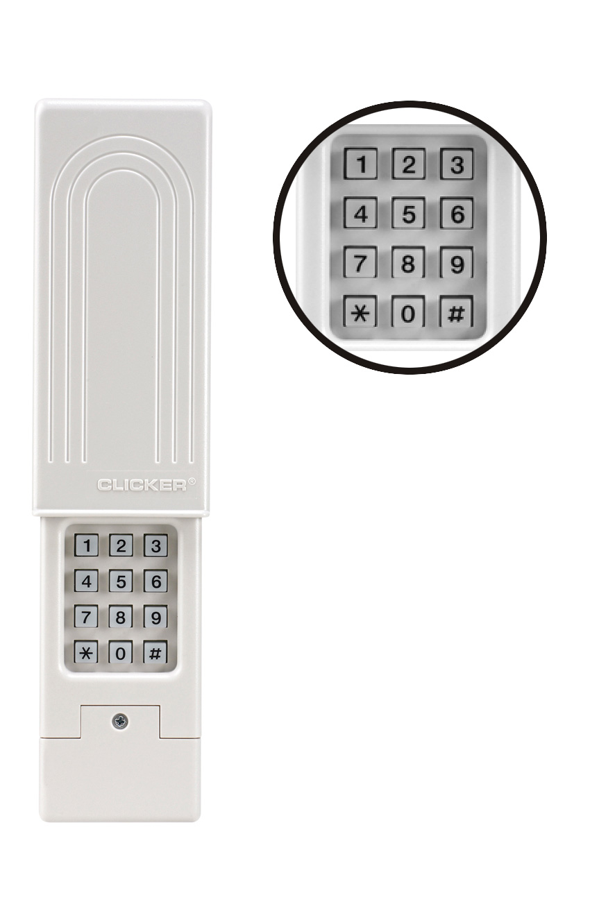 Clicker garage chamberlain clicker clicker garage door keypad.