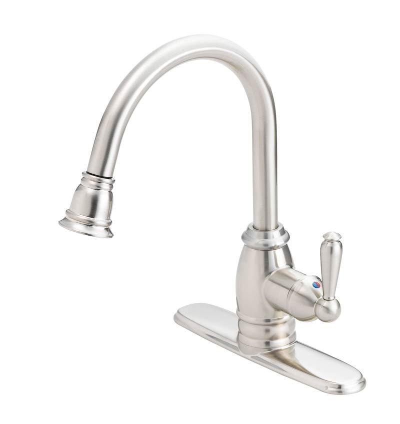 flo control faucets fp4a5008np pull down designer kitchen designer kitchen faucets