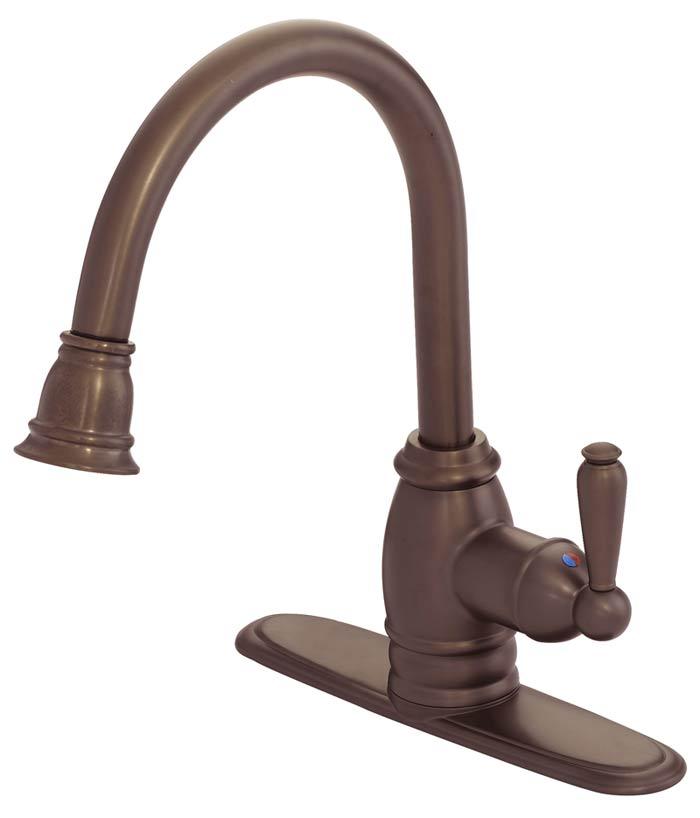 Pull Down Designer Kitchen Faucet