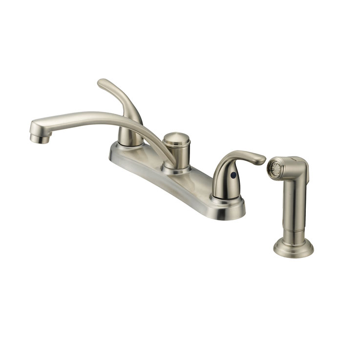 flo control faucets f8f11034np 2 handle brushed nickel
