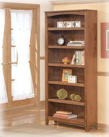 Signature Design By Ashley H319 17 Large Bookcase Cross