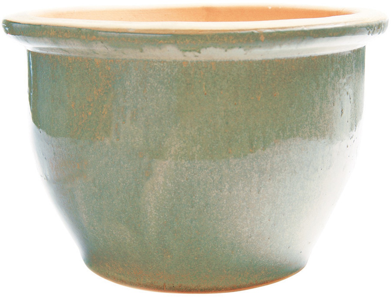 New England Pottery 31020 12 Inch Ice Green Pickle Pot At Sutherlands