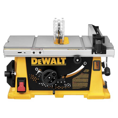 DeWalt DW744X 10 In Job Site Table Saw With Site Pro Modular Guarding  System At Sutherlands