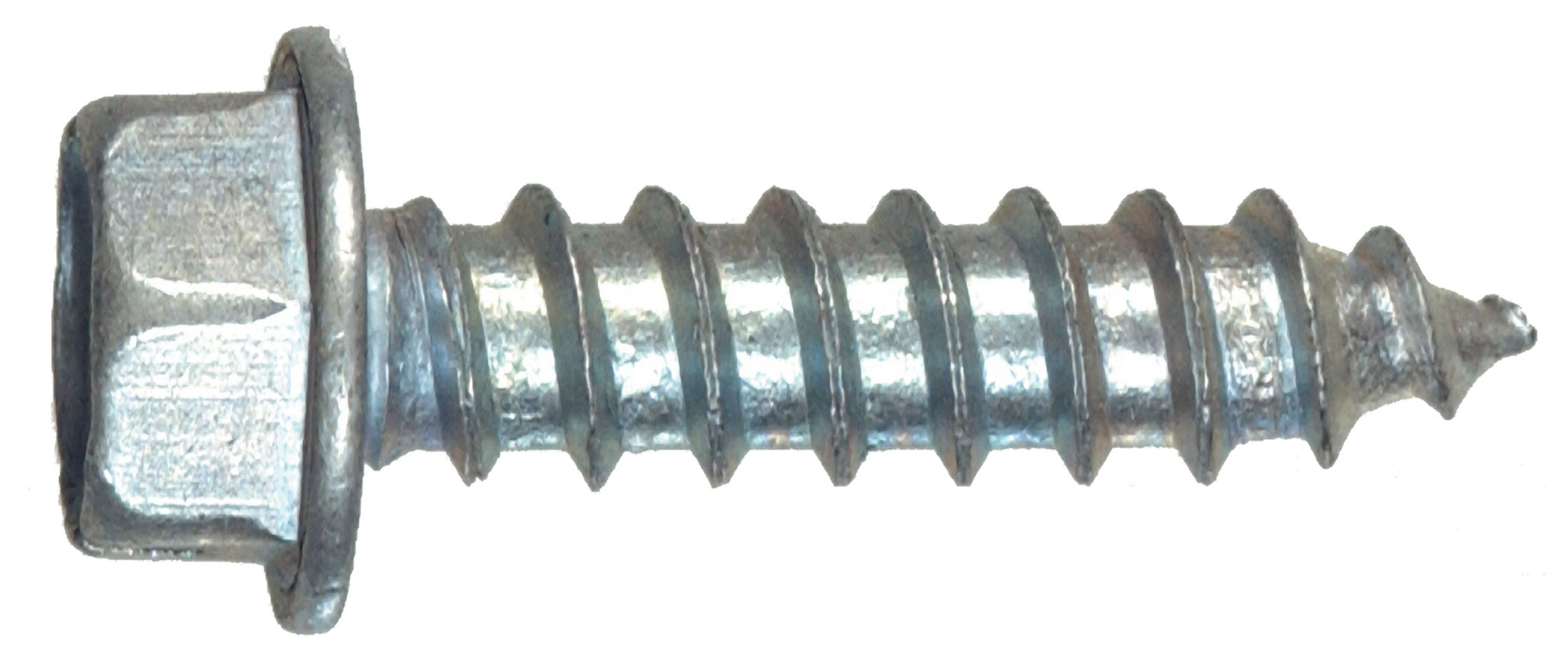 10 x 1-1/4-Inch Hex Washer Head Slotted Sheet Metal Screw