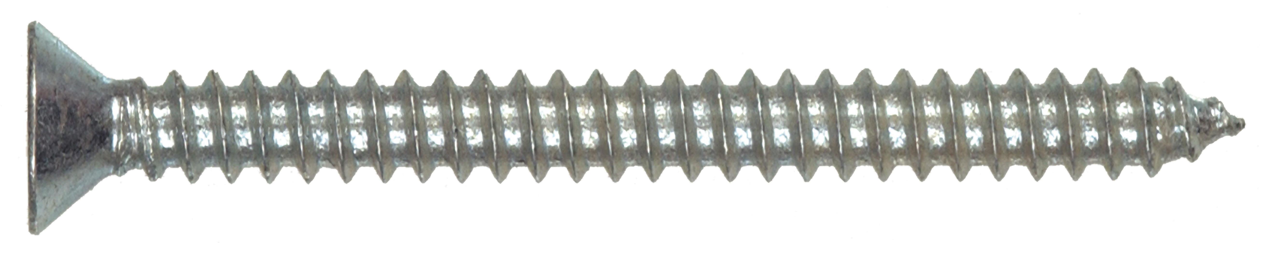 The Hillman Group 80168 6 x1-Inch Flat Head Phillips Sheet Metal Screw 100-Pack